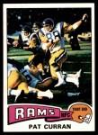 1975 Topps #446  Pat Curran  Front Thumbnail