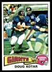 1975 Topps #516  Doug Kotar  Front Thumbnail