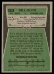 1975 Topps #522  Bill Olds  Back Thumbnail