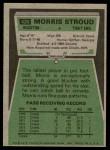 1975 Topps #426  Morris Stroud  Back Thumbnail