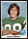 1975 Topps #447  David Knight  Front Thumbnail