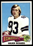 1975 Topps #464  Golden Richards  Front Thumbnail