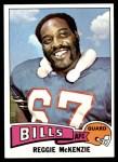 1975 Topps #473  Reggie McKenzie  Front Thumbnail