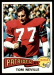 1975 Topps #493  Tom Neville  Front Thumbnail
