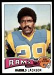 1975 Topps #505  Harold Jackson  Front Thumbnail