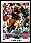 1975 Topps #443  John Hadl  Front Thumbnail