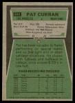 1975 Topps #446  Pat Curran  Back Thumbnail