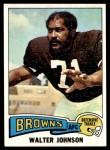 1975 Topps #463  Walter Johnson  Front Thumbnail