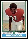 1974 Topps #519  Leroy Mitchell  Front Thumbnail