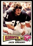 1975 Topps #422  Jack Gregory  Front Thumbnail