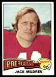 1975 Topps #431  Jack Mildren  Front Thumbnail