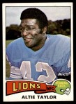 1975 Topps #481  Altie Taylor  Front Thumbnail