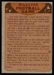 1974 Topps  Checklist   San Francisco 49ers Team Back Thumbnail