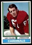 1974 Topps #112  Larry Stallings  Front Thumbnail