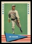 1961 Fleer #82  Hippo Vaughn  Front Thumbnail