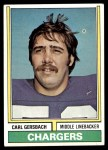 1974 Topps #202  Carl Gersbach  Front Thumbnail