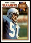 1979 Topps #78  John Yarno  Front Thumbnail
