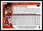 2010 Topps Update #49  Bobby Wilson  Back Thumbnail
