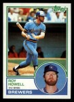 1983 Topps #218  Roy Howell  Front Thumbnail