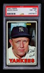 1967 Topps #468  Ralph Houk  Front Thumbnail