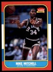1986 Fleer #74  Mike Mitchell  Front Thumbnail