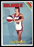 1975 Topps #270  Louie Dampier  Front Thumbnail