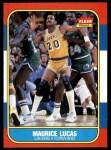 1986 Fleer #66  Maurice Lucas  Front Thumbnail