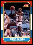 1986 Fleer #70  Cedric Maxwell  Front Thumbnail