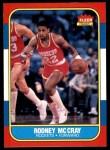 1986 Fleer #71  Rodney McCray  Front Thumbnail