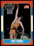 1986 Fleer #89  Kurt Rambis  Front Thumbnail