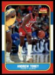 1986 Fleer #114  Andrew Toney  Front Thumbnail