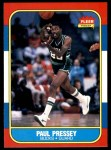 1986 Fleer #88  Paul Pressey  Front Thumbnail
