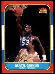 1986 Fleer #24  Darryl Dawkins  Front Thumbnail