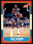 1986 Fleer #105  Rory Sparrow  Front Thumbnail