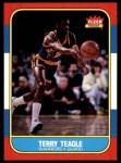 1986 Fleer #107  Terry Teagle  Front Thumbnail