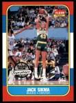 1986 Fleer #102  Jack Sikma  Front Thumbnail