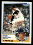 1983 Topps #240  Goose Gossage  Front Thumbnail