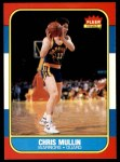 1986 Fleer #77  Chris Mullin  Front Thumbnail