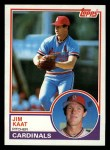 1983 Topps #672  Jim Kaat  Front Thumbnail