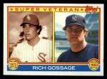 1983 Topps #241   -  Goose Gossage Super Veteran Front Thumbnail