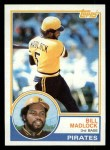 1983 Topps #645  Bill Madlock  Front Thumbnail