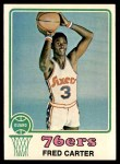 1973 Topps #111  Fred Carter  Front Thumbnail