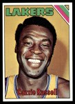 1975 Topps #34  Cazzie Russell  Front Thumbnail
