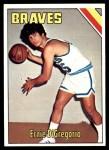 1975 Topps #45  Ernie DiGregorio  Front Thumbnail
