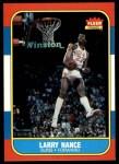 1986 Fleer #78  Larry Nance  Front Thumbnail
