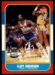 1986 Fleer #93  Cliff Robinson  Front Thumbnail