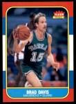 1986 Fleer #22  Brad Davis  Front Thumbnail