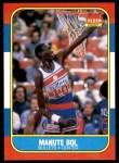 1986 Fleer #12  Manute Bol  Front Thumbnail