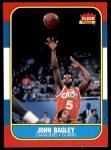 1986 Fleer #5  John Bagley  Front Thumbnail