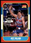 1986 Fleer #96  Jeff Ruland  Front Thumbnail